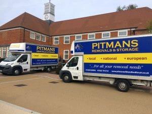 Pitmans Domestic Removals